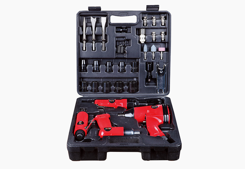 LX-008 34-PC Air Tool Combo Kit