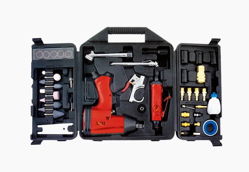 LX-012 52-PC Air Tool Combo Kit