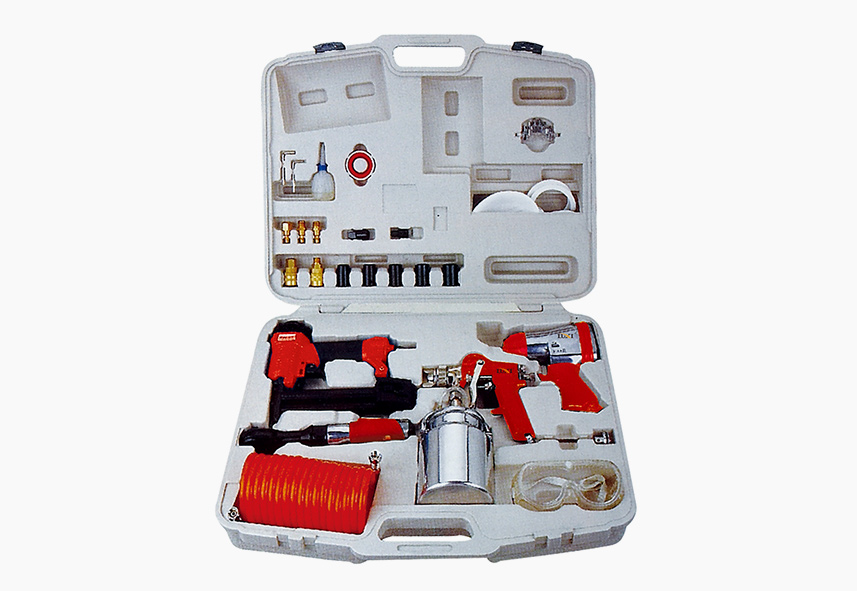 LX-017 48-PC Air Tool Combo Kit