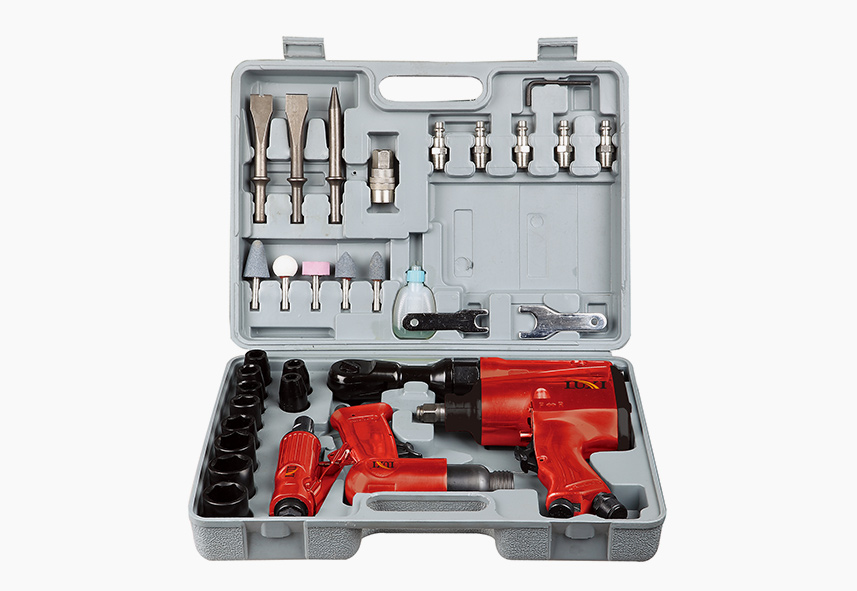 LX-018 34-PC Air Tool Combo Kit