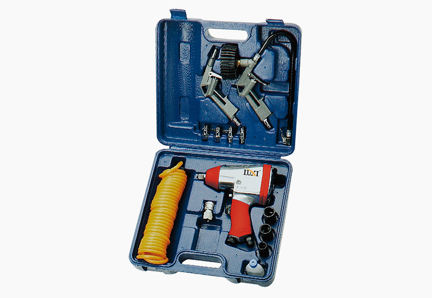 LX-021 15-PC Air Tool Combo Kit