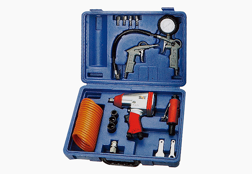 LX-022 17-PC Air Tool Combo Kit