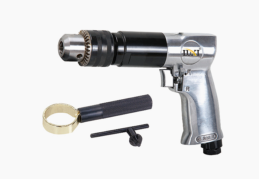 LX-3010 3-8 Inch Reversible Pistol Drill with Vice Handle
