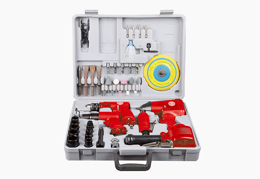 LX-007 48-PC Air Tool Combo Kit